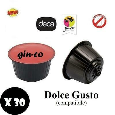 Natfood Ginseng Ginco Soluble Decaffeinate Capsule Compatible Dolce Gusto Nescaf