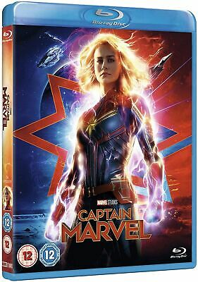 Captain Marvel [Blu-ray] RELEASED 15/07/2019