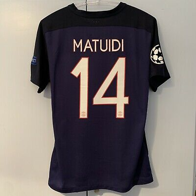 innovative design 337dc 2b9d9 MAILLOT DE FOOTBALL PSG Jersey camiseta maglia PLAYER ISSUE Matuidi Juventus