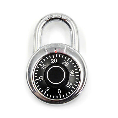 3-Dial Combination Password Padlock for Dormitory Door gym locker Code Lock  nh