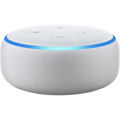 Amazon Echo Dot (3rd Gen) Smart Speaker With Alexa White