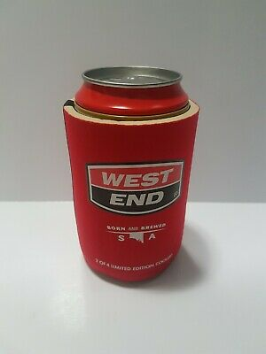 West End Stubby Holder 2 of 4 Limited Edition Cooler Can Red Backs Beer Bar