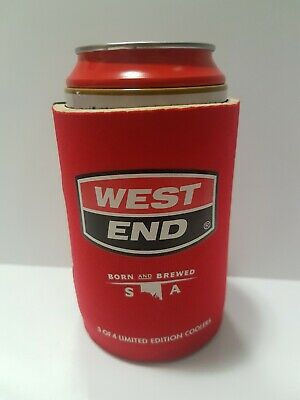 West End Stubby Holder 3 of 4 Limited Edition Cooler Can Heritage Scoreboard AO