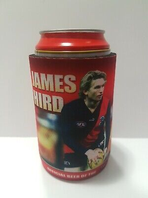 Carlton Draught Champions of Footy JAMES HIRD AFL Stubby Holder Cooler Can