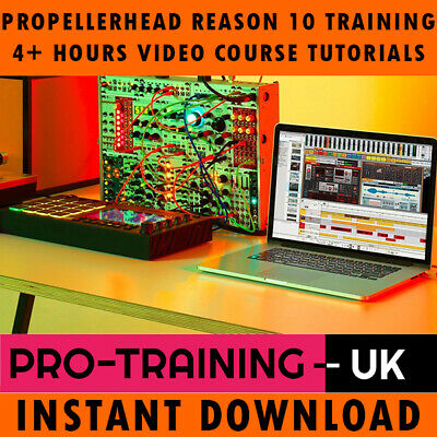 Propellerhead Reason 10 Pro Video Training Tutorial Course - Instant Download