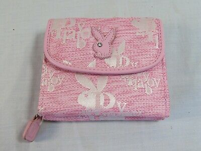*NEW* Playboy White Purse Wallet with Bunny Logos