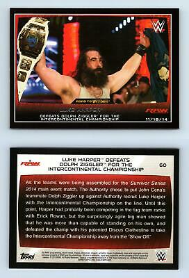 THE BUSHWACKERS #98 WWE Road to combat 2015 TOPPS Trade Card C1962