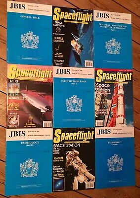 ***REVISED LISTING*** SPACEFLIGHT MAG 4 issues + 5 JBIS Journal Publications