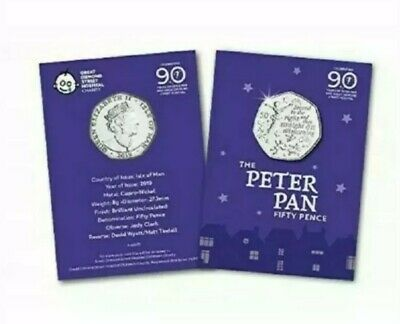 Just released IOM Peter Pan 50p For the  Great Ormond Street Hospital Children.