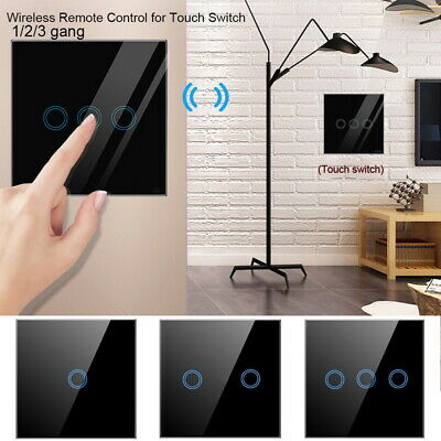 Smart Wireless 433Mhz Touch Remote Control Wall Transmitter For Light Switch GE