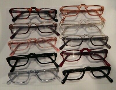 Vintage 10 Pc. Lot Elite Norwood Assorted Colors 46/26 Eyeglass Frame NOS #S12
