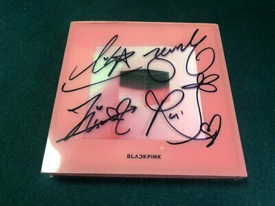 BLACKPINK [SQUARE UP]Album Autograph ALL MEMBER Signed PROMO ALBUM KPOP