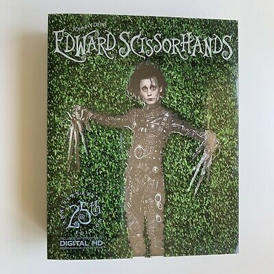 EDWARD SCISSORHANDS Blu-ray+DVD NEW 25th Anniversary LIMITED EDITION Johnny Depp