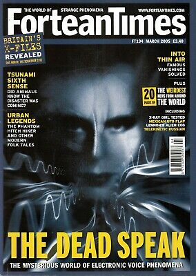 Fortean Times 194;  Tsunami 6th sense; Kinsey a fraud; the dead speak