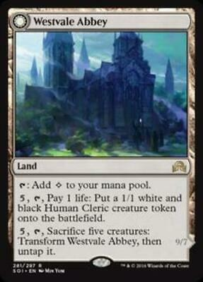 1x Westvale Abbey • Shadows over Innistrad • MP Moderately Played • MTG