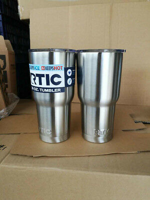 RTIC 30oz Tumbler Cup Stainless Steel Cooler Vacuum Insulated Vehicle Coffee