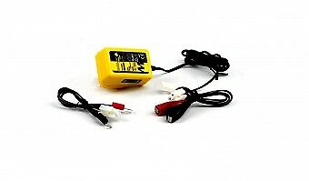 Motorcycle 12v / 6v Battery Trickle Charger Motobatt Baby Boy With Auto Cut-Off