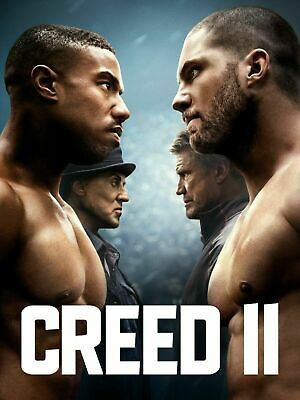 Creed 2 (Dvd 2018)  *Free Shipping
