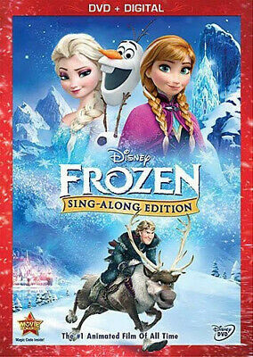 FROZEN [Sing-Along Edition] (Walt Disney) Anna Elsa Olaf | DVD | Brand New