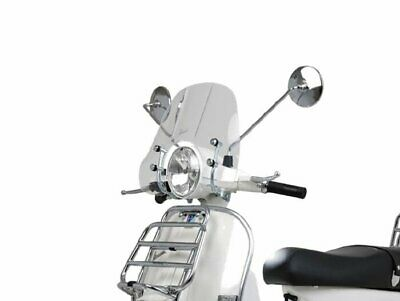 Vespa PX 125 150 200 - Cruiser Clear Flyscreen Windshield