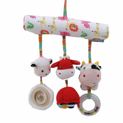 Hot Bells Crib Bed Appease Tool Baby Toys Hanging Animals RattlesToy Kid Present