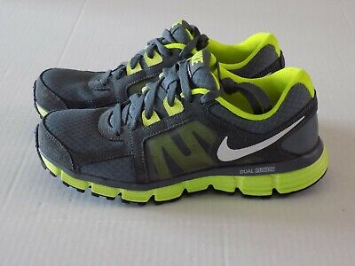 1bf04890d1c9a NIKE 454240-020 DUAL Fusion ST2 Size 7.5 M White Green Pink Running ...