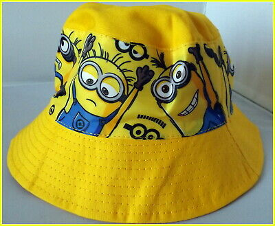 Children's Cotton Bucket Hat - Minions