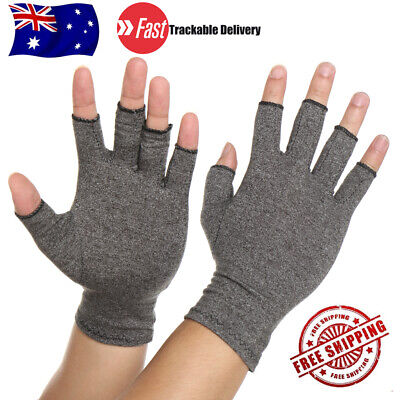 Compression Gloves Arthritis Brace Carpal Tunnel Therapy Hand Joint Pain Relief