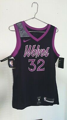 32613c69634 Karl Anthony Towns Timberwolves Prince City Edition Authentic Jersey Size M  NEW
