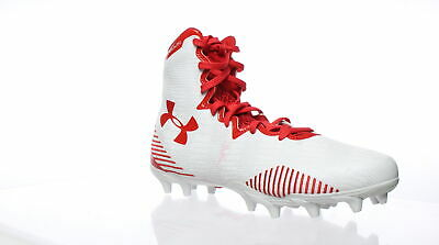 970f517a1 Under Armour Womens Lax Highlight Mc White (161)/Red Lacrosse Cleats Size 7