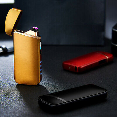 5Color USB Touch Screen Electric Lighter Windproof Rechargeable Smoking Lighters