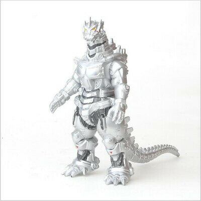 "Silver Godzilla King Of The Monsters Mechagodzilla 6.75""Action Figure Toys Gift"