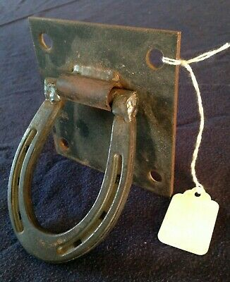 Beautiful Wrought Iron And Cast Iron Design Towel Ring/Bath/Kitchen/Tack -Hook