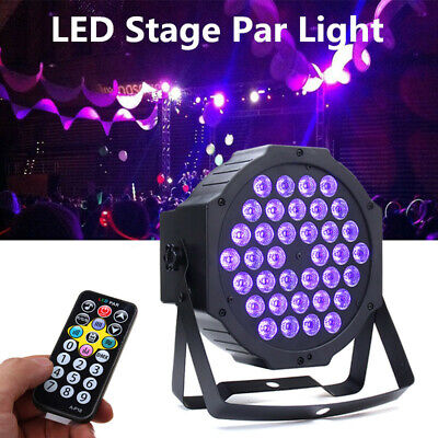 36 LED UV Black Light DMX512 Sound Actived Stage Lighting Disco Club Bar DJ