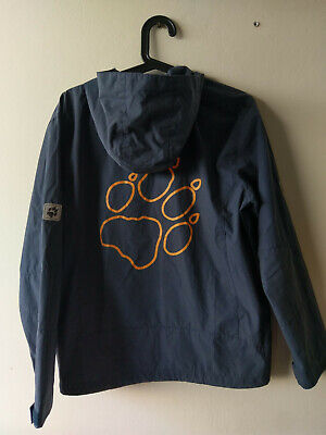 As new - Jack Wolfskin, Children's Jacket, water repellent, blue, size 164