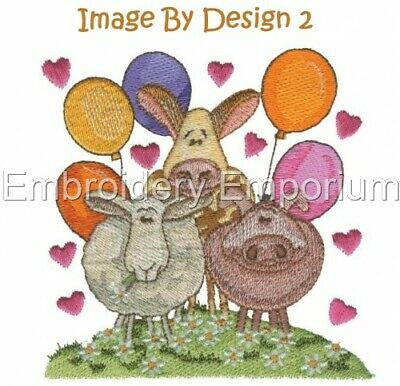 Image By Design 2 Collection - Machine Embroidery Designs On Cd Or Usb