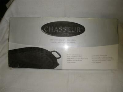 Ffabulous Chasseur Cast Iron Stove Top Grill Made In France Black New