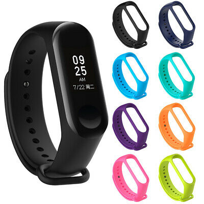 Bracelet For Mi Band 3 Xiaomi Wrist Band Strap Wristband Replacement Silicone