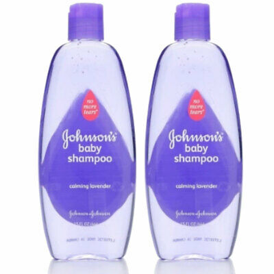 (2 Pack) JOHNSON'S Baby Shampoo With Natural Lavender 15 oz