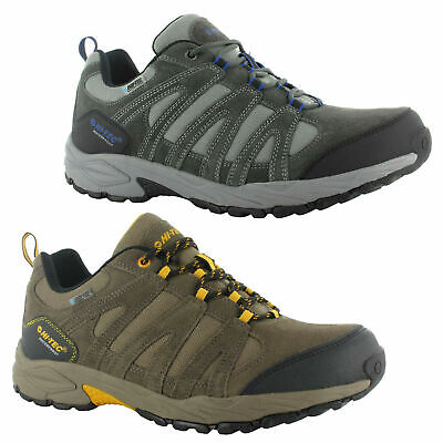 d5ce487da487d Mens Hi-Tec Alto II Low Waterproof Hiking Walking Shoes Trainers Sizes 6.5  to 12