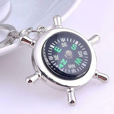 Fashion Compass Metal Car Keyring Keychain Key Chain Ring Keyfob High Qulity