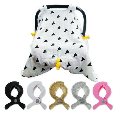 2Pcs Baby Stroller Accessories Cover Clip Attach Blanket Toy Stroller Pegs Hooks