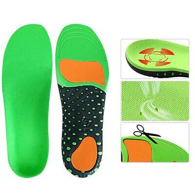 Gel Insole Orthotic Arch Sport Shoe Pad Running Insoles High Arch Support Unisex