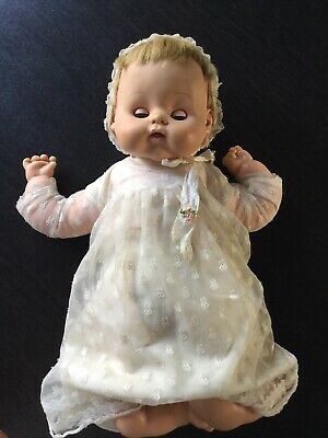 Vintage Antique 1950's Baby Doll Soft Body