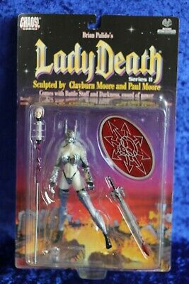 Chaos Comics Lady Death series II 2 Moore collectiblesACTION FIGURE