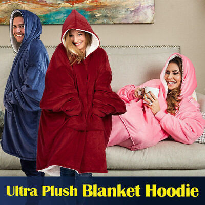 Blanket Hoodie Ultra Plush The Comfy Giant Sweatshirt Huggle Hoodie Fleece WarmO