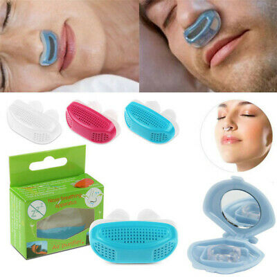 Silicone Nose Clips Anti Snoring Sleeping Device Free Snore Stopper
