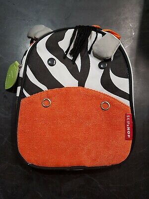 Skip Hop ZOO LUNCHIE INSULATED LUNCH BAG - ZEBRA Kids Lunch Bags - BN