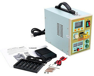 NEW 788H with LED Dual Pulse Spot Welder Battery Charger 110V 0.1 - 0.2mm