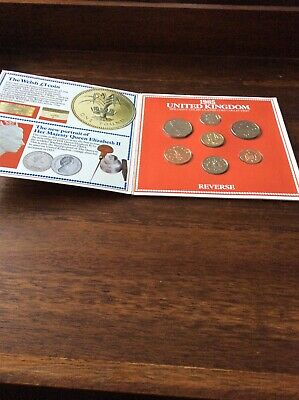 Great Britain 1985 Uncirculated Coin Set.